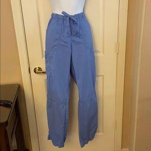 Landau Light blue scrub top